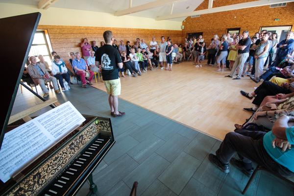 Café Bach: Assemblée générale extraordinaire du festival