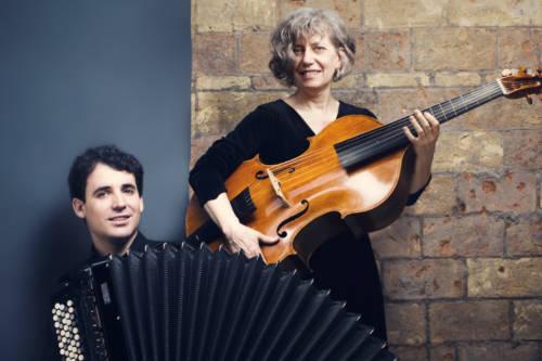 Duo Les inAttendus, accordéon & viole, Bach & Hersant